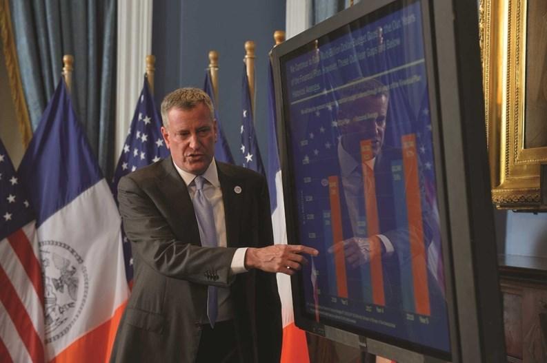 New York Citys Budget Up To 75 Billion But No New Taxes Mayor