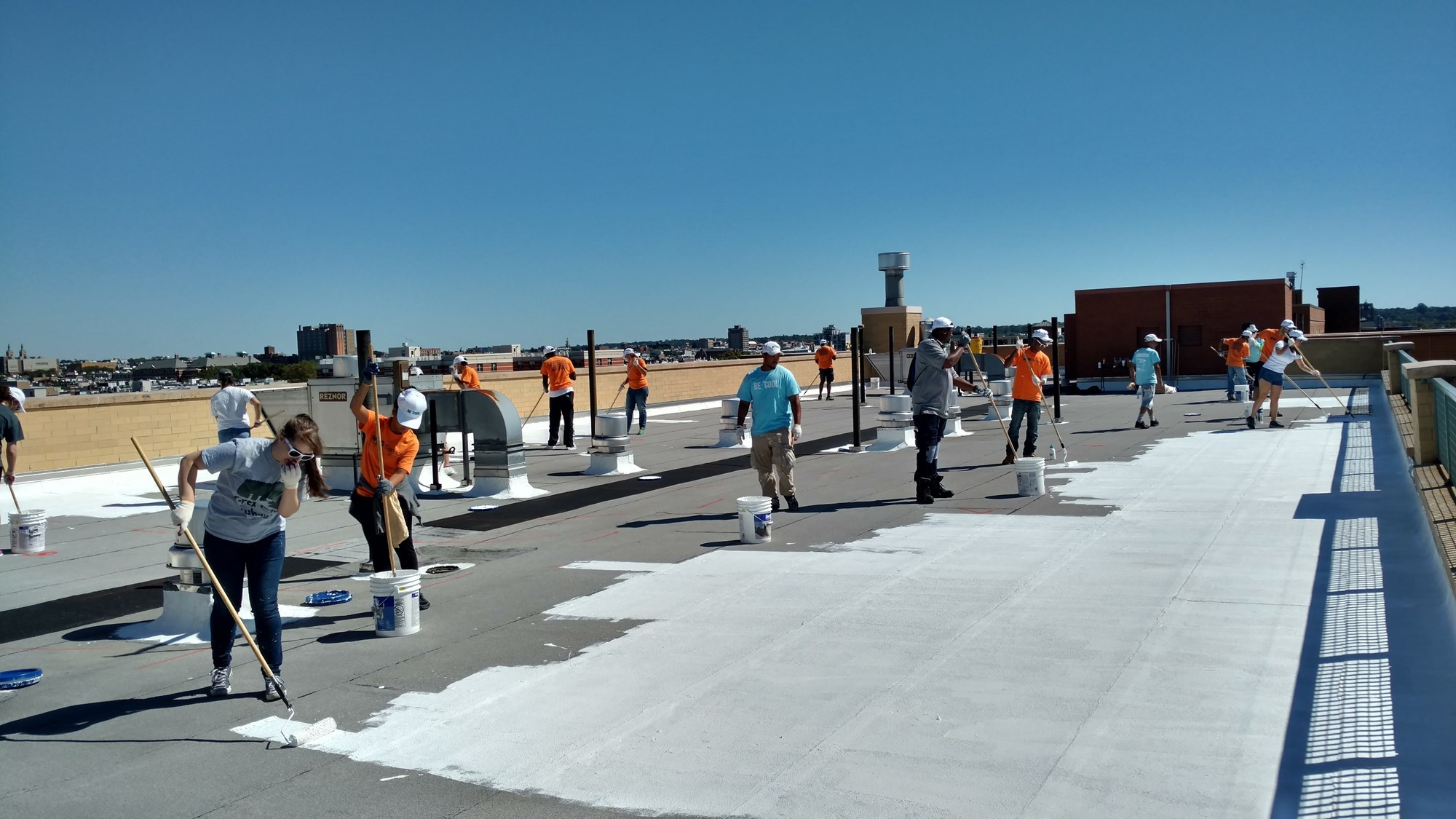 Exceptional Cool Roofing At Work (NYC Department Of Small Business Services).