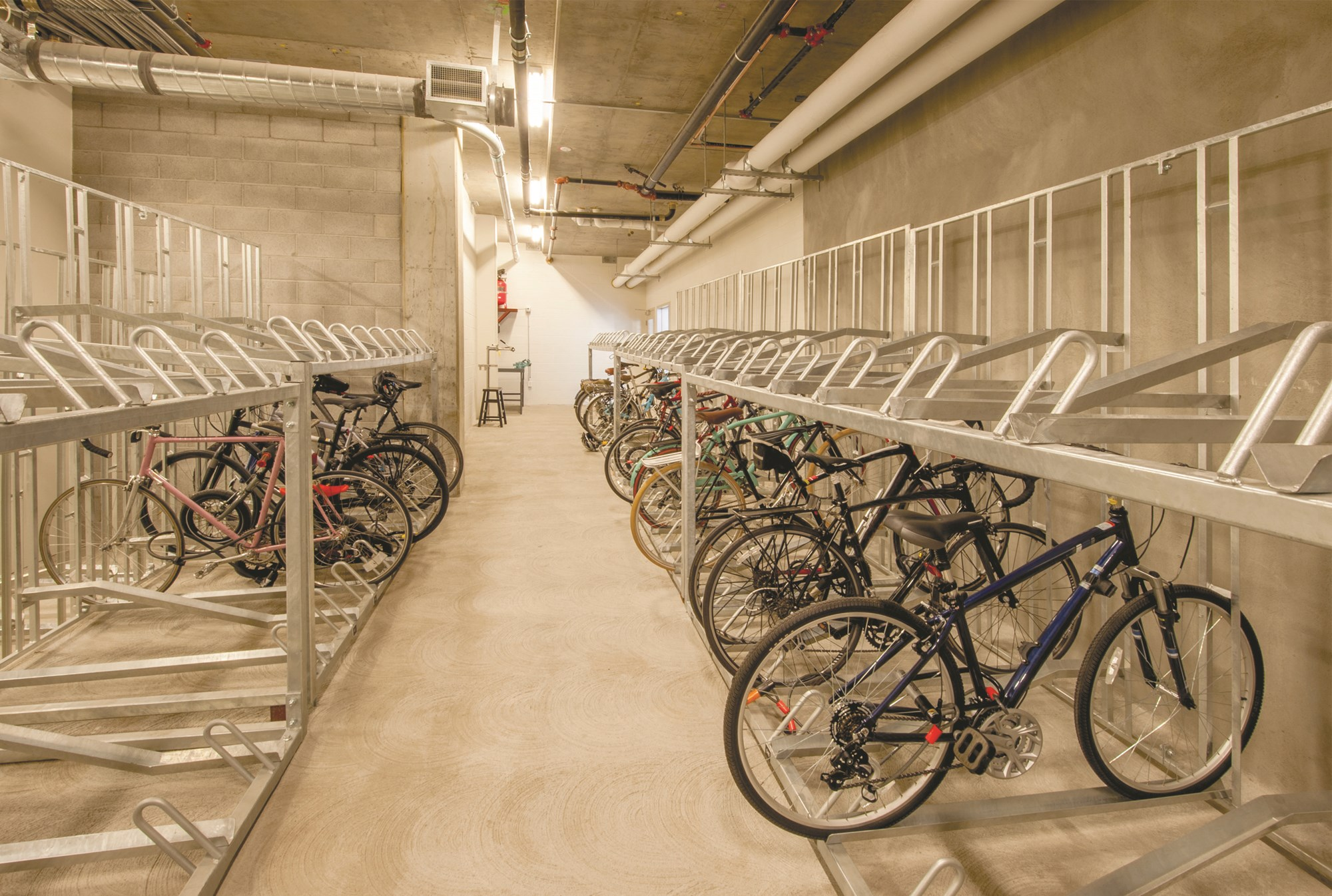 Attractive Bicycle Storage Basic Amenity, Or Luxury?