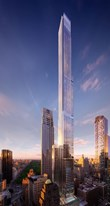 Extell Launches Sales at Central Park Tower