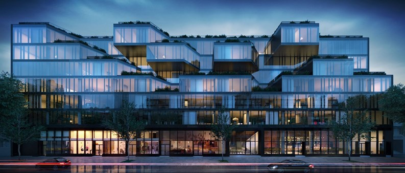 new condo development takes shape in queens corte a little bit of
