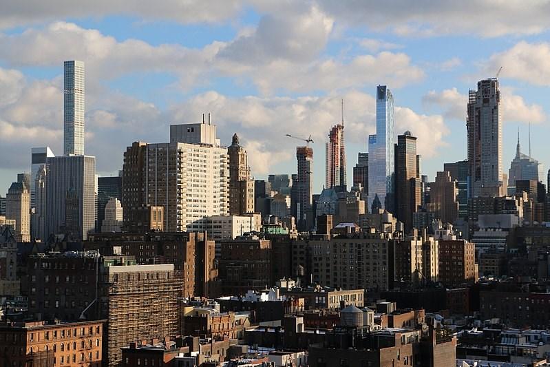 New York Skyline USA Company Patch